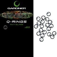 Застежка COVERT Q RINGS ANTI GLARE QR