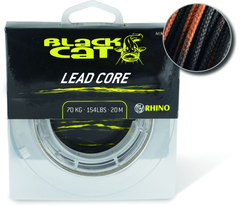 Lead Core 20m 70kg brown/camou