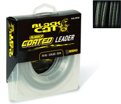 Ø0,80mm Rubber coated Leader 20m 70kg,154lbs