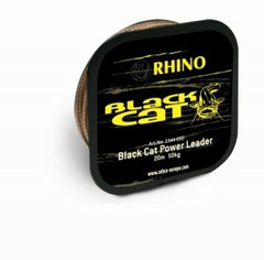 Шнур для сома Black Cat Power Leader, 50кг, 20м