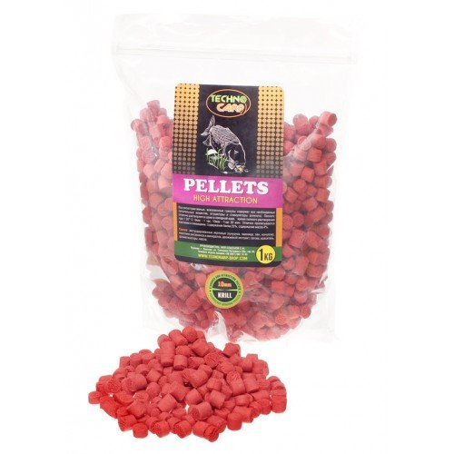 "Пеллетс Flavored Carp Pellets ""Krill"" 6mm"
