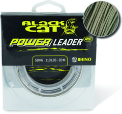 Шнур для сома 1.40mm Black Cat Power Leader RS, 150кг, 20м