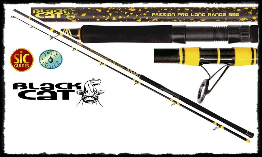 Спиннинг 3,30m Passion Pro DX Long Range 600g, Black Cat