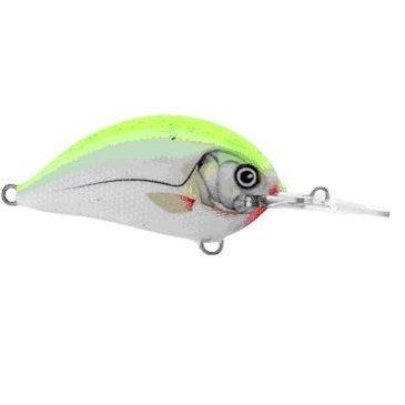 Воблер RITMO HOT YELLOW DACE, Mid Runner, 4cm, 6g