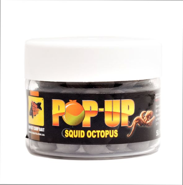 Бойлы Плавающие Pop-Ups Spicy Shrimp 10мм, 15шт
