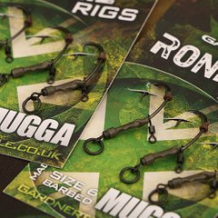 RONNIE RIGS SIZE 6 BARBED (3) *NEW*