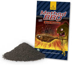 Прикормка Method BBQ Black Halibut 1kg Browning