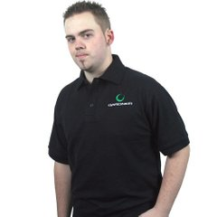 Футболка Gardner POLO SHIRT black, L