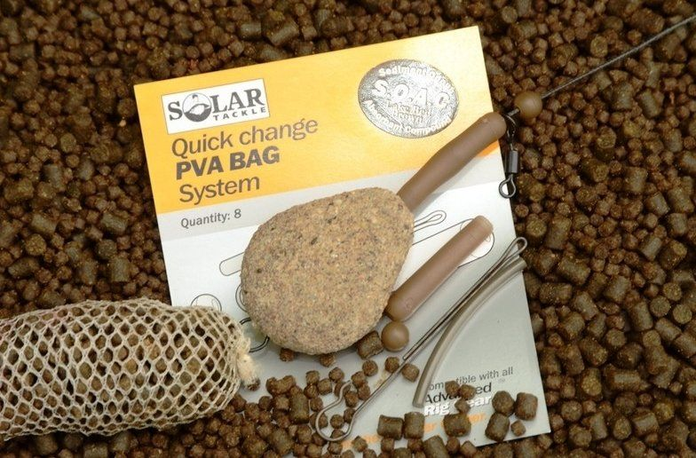 Клипса для ПВА QUICK CHANGE PVA BAG SYSTEM LAKEBED BROWN