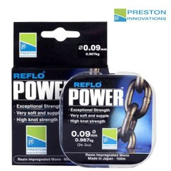 Леска Preston REFLO POWER - 0.21mm. 100m