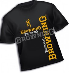 Футболка, #L T-Shirt, black, Browning