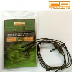 Ледкор PB PRODUCTS HELI CHOD LEADER 60cm Weed (водоросль), 2 шт.