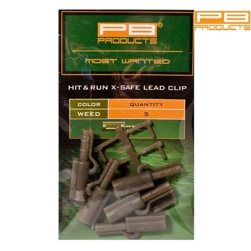 Клипса PB PRODUCTS HIT&RUN X SAFE LEAD CLIP Silt (ил)