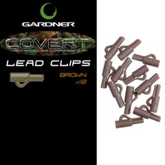Клипса COVERT LEAD CLIPS GREEN (12)