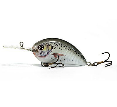 Воблер RITMO SPOTTED SEATROUT, Deep Runner, 2.5cm, 2.2g
